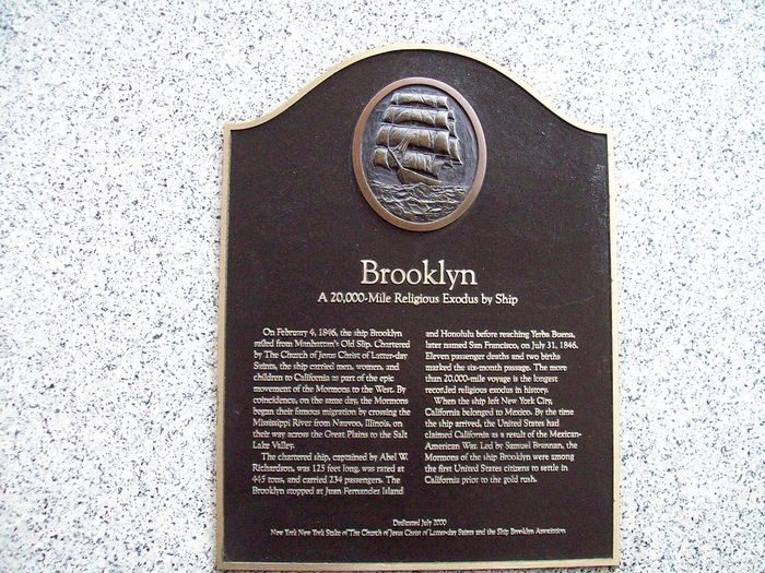 Brooklyn-plaque